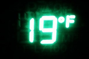 19 degrees