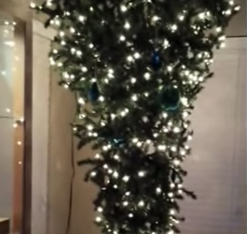 upside down christmas trees are the latest holiday craze - When To Take Down Christmas Lights